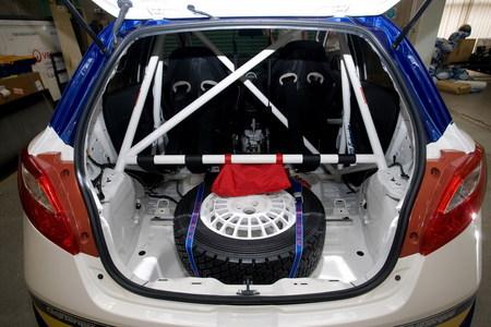 Mazda 2 Extreme, preparación de rally