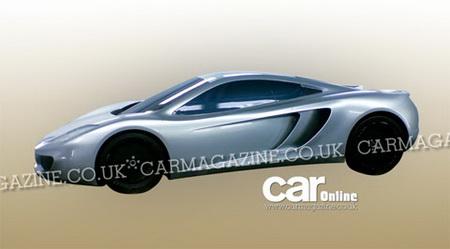 McLaren P11, primeras imágenes filtradas