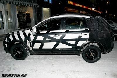 Opel Antara, foto espía