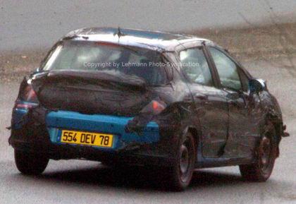 Nuevo Pugeot 308, foto espía