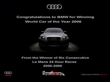 Anuncio de Audi