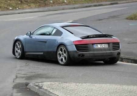 Fotos espía del Audi R8