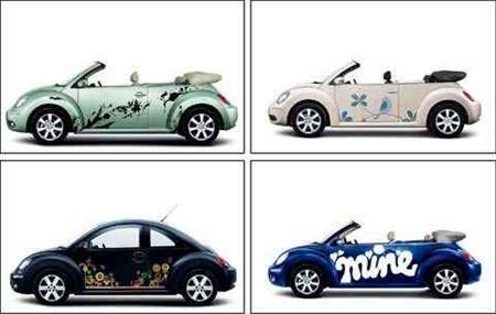 Personaliza tu Volkswagen New Beetle