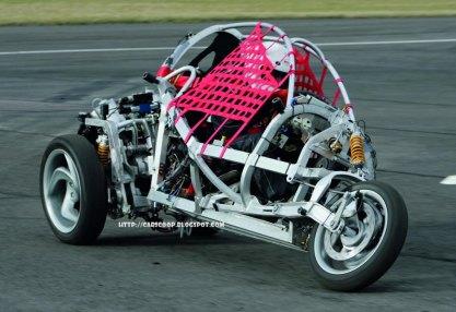 Clever, un BMW con tres ruedas