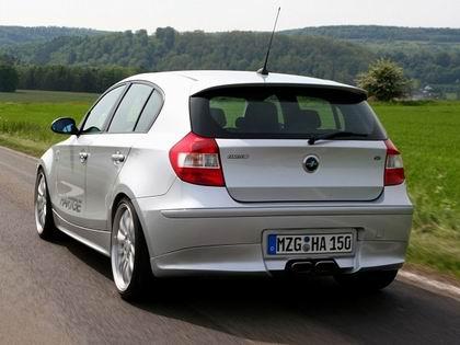 BMW Serie 1 Hartge, trasera