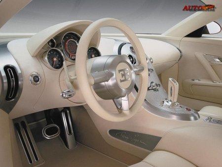 Bugatti Veyron 16.4 Interior