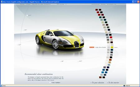 Crea tu propio (y virtual) Bugatti Veyron