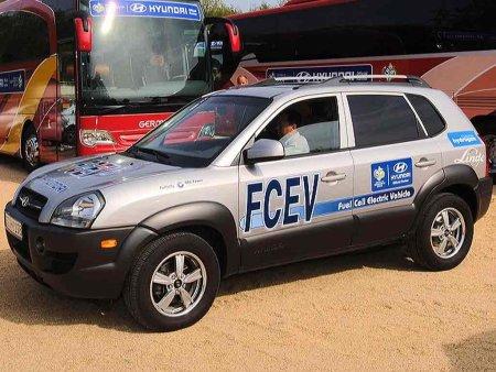 Hyundai Tucson FCEV, el todoterreno impulsado por pilas de combustible
