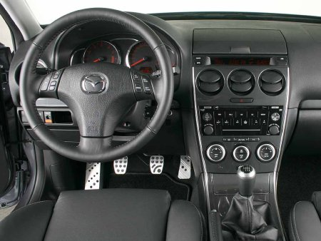 Mazda6 2.3 MPS Interior