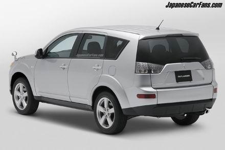 Outlander, el SUV de Mitsubishi