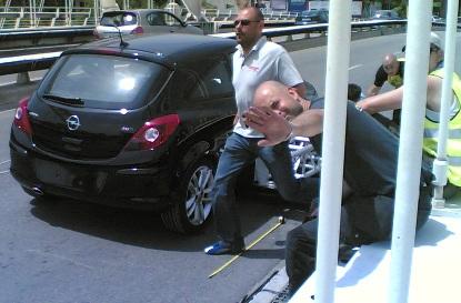 Nuevo Opel Corsa a vueltas por Barcelona