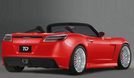Sky Project Car por General Motors y Gravana