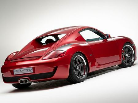 Studio Torino RK Coupe, un Porsche Cayman modificado