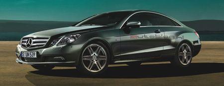 Mercedes Clase E Coupé, imágenes oficiales filtradas