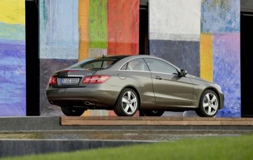Mercedes Clase E Coupé 2010
