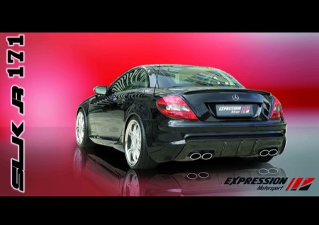 Expression Motorsports embrutece al Mercedes SLK