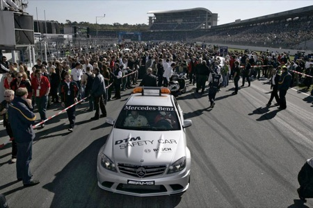 Mercedes C 63 AMG, coche oficial de seguridad para la DTM