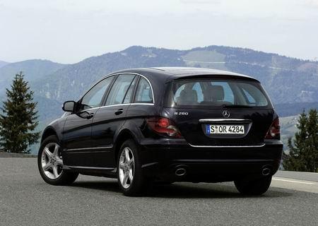 Mercedes Clase R, facelift