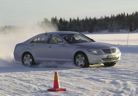 Mercedes Clase S con transmisión 4Matic