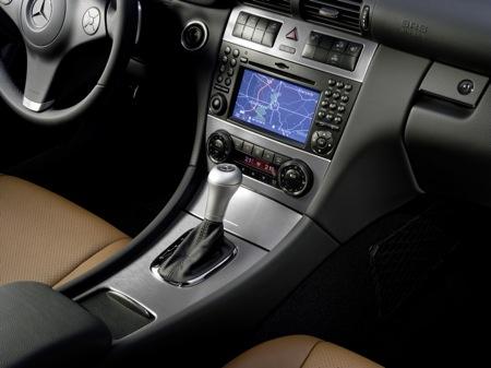 Mercedes CLC 2009, interior