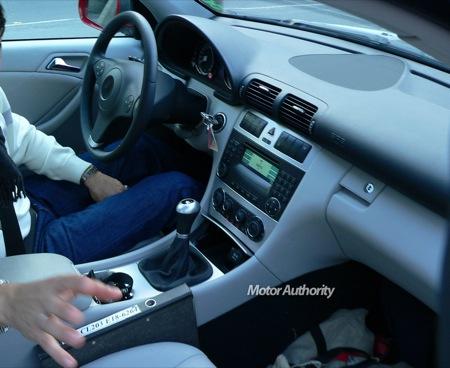 Fotos espía del Mercedes CLC Sportcoupé