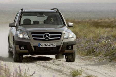 Mercedes GLK 2009, primeras fotos antes de Pekín