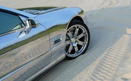 Mercedes SL 600 con baño cromado por RENNtech