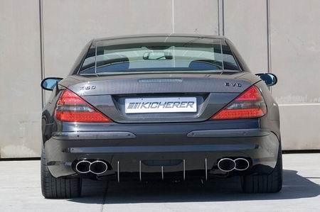 Mercedes SL K 60 Evo Black por Kicherer