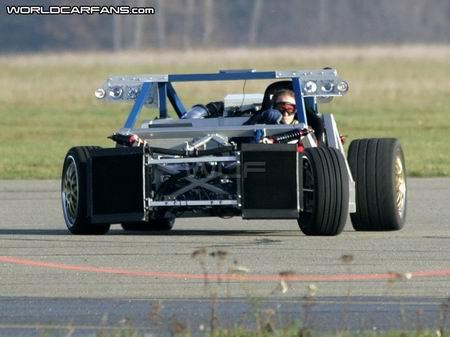 Fotos espía del Mercedes SLS McLaren