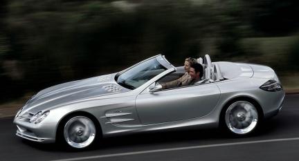 Mercedes SLR Convertible, presentación en Ginebra