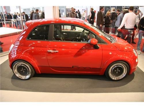 Fiat 500 por Merkur
