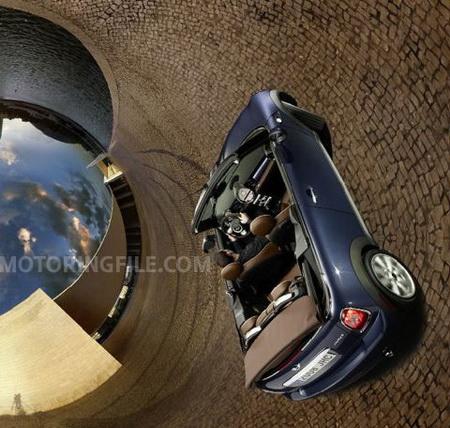 Mini Cooper Cabrio 2009, adelanto de imágenes