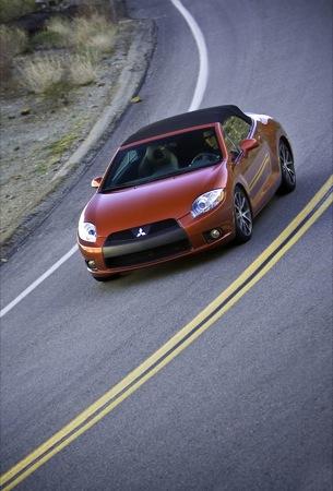 Mitsubishi Eclipse Spyder 2009, imágenes oficiales