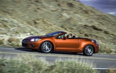Mitsubishi Eclipse Coupé y Spyder 2009, imágenes oficiales