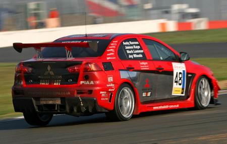 Mitsubishi Lancer Evolution X Racing