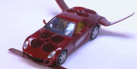 Ferrari 599 por Moller, híbrido y volador nada menos
