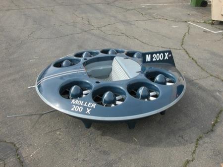A producción el primer coche volador: Moller M200 Volantor
