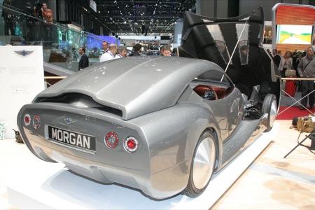 El Morgan Life Car en Ginebra, todavía más sorprendente en la realidad