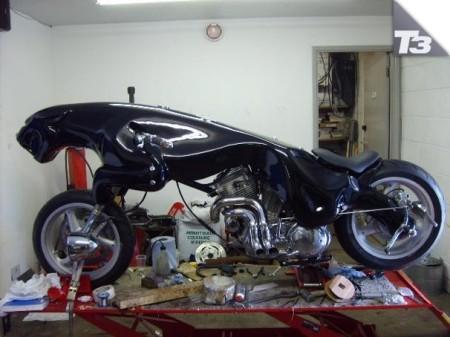 Moto Jaguar, una auténtica bala felina
