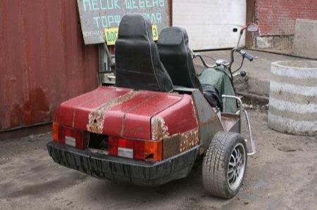 Rusia y sus adaptaciones: una moto Lada