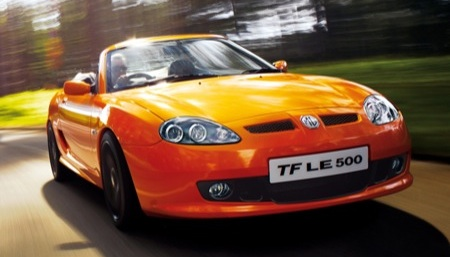 MG TF Roadster LE 500