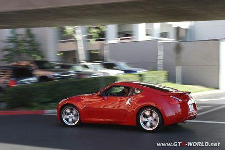 Nissan 370Z, fotos en la ciudad y más información