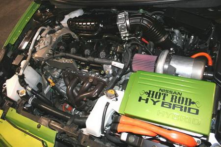Nissan Altima Hot-Rod Hybrid