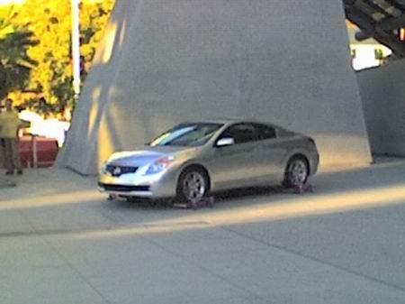 Fotos espía del Nissan Altima