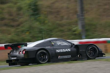 Nissan GT-R, a competición en la GT500 japonesa