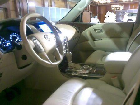 Nissan Patrol 2009, fotos espía sin camuflaje