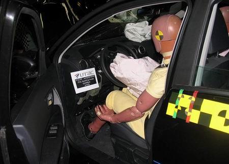 Crash test: Nissan Qashqai, máxima puntuación EuroNCAP