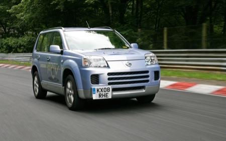 Nissan X-Trail FCV, el más rápido de Nürburgring