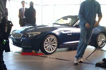 BMW Z4 2010, imagen del modelo de producción