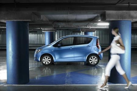 Opel Agila 2008, fotos oficiales